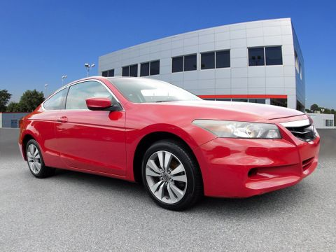 Pre-Owned 2012 Honda Accord Cpe EX