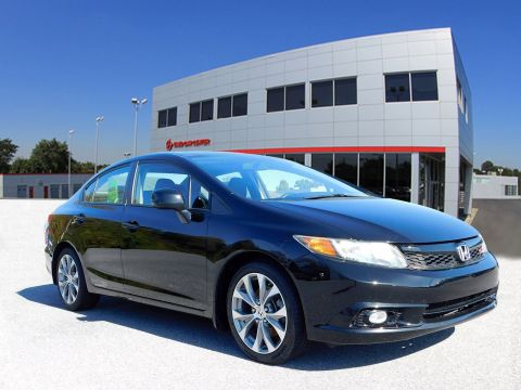 Pre-Owned 2012 Honda Civic Sdn Si