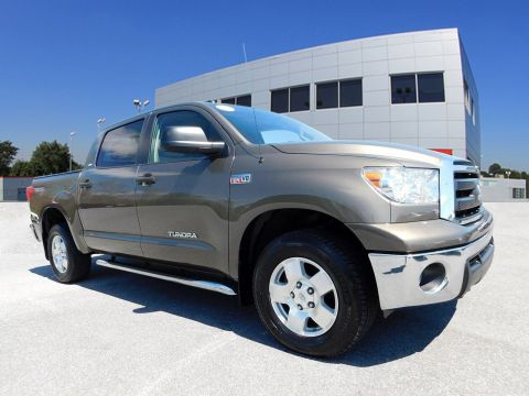 Pre-Owned 2011 Toyota Tundra CREW 4WD V8 5.7 G